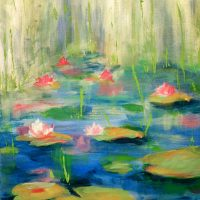 Monet's Water Lillies at Barmacy