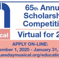 Tuesday Musical 65th Annual Scholarship Competitio...