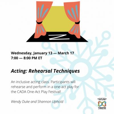 Acting: Rehearsal Techniques (teens/adults)