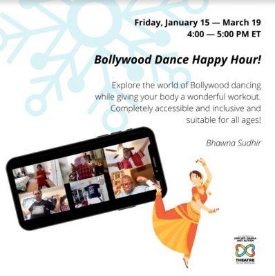 Bollywood Dance Happy Hour! (teens/adults)