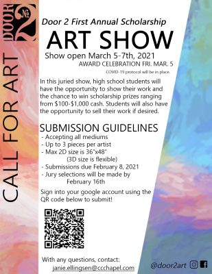 Call for High School Artists