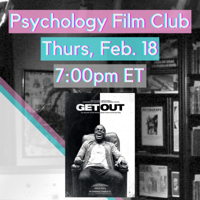 Psychology Film Club - Get Out