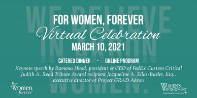 For Women, Forever Virtual Celebration