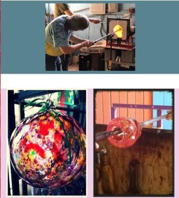 Glass Blowing Beginner with Bob Pozarski and Bryan...