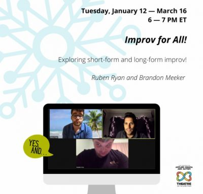 Improv for All! (teens & adults)