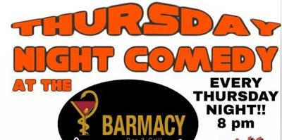 Thursday Nite Comedy at Barmacy