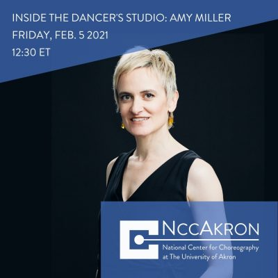 Inside the Dancer's Studio with Amy Miller