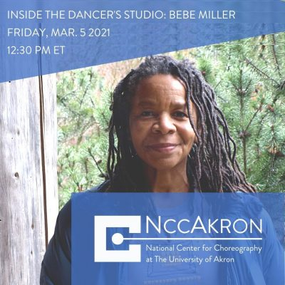 Inside the Dancer's Studio with Bebe Miller