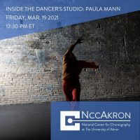 Inside the Dancer's Studio with Paula Mann