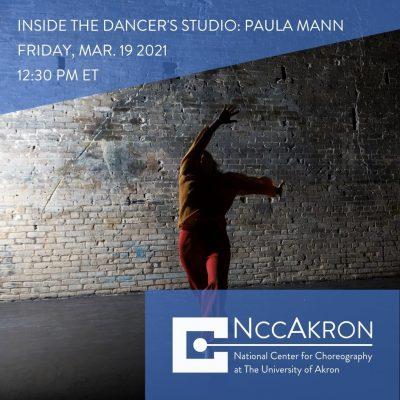 Inside the Dancer's Studio with Paula Mann