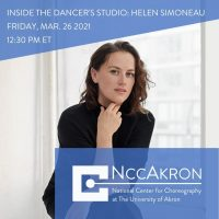 Inside the Dancer's Studio with Helen Simoneau