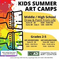 CVAC: Kids Summer Art Camps