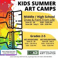 CVAC: Kids Summer Art Camps