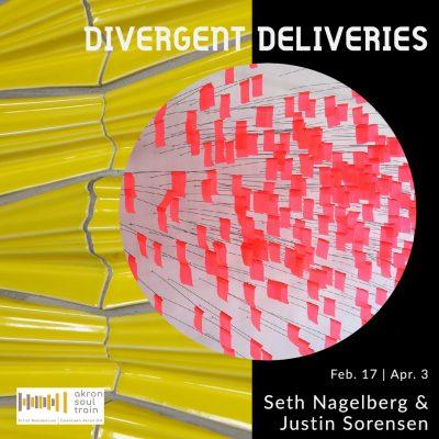"""""""Divergent Deliveries"""" exhibition at Akron Soul Tr..."""