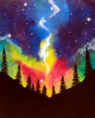 Rainbow Galaxy at Barmacy