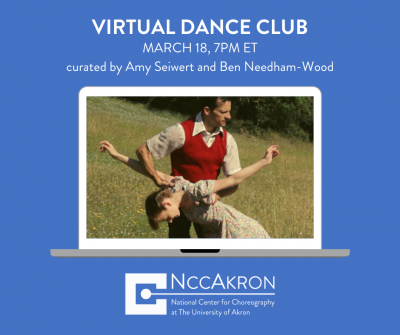 Virtual Dance Club: March 2021