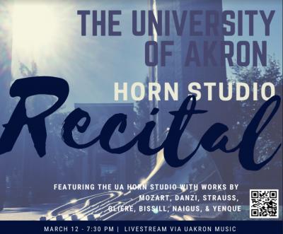 UA Horn Studio Recital