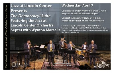 The Democracy! Suite Featuring the Jazz at Lincoln Center Orchestra Septet with Wynton Marsalis