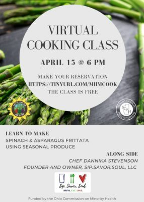 Virtual Cooking Class- Minority Health Month with ...