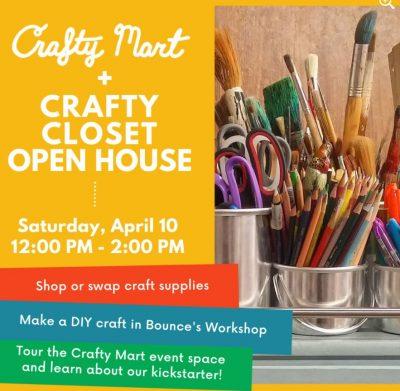 Crafty Closet Open House