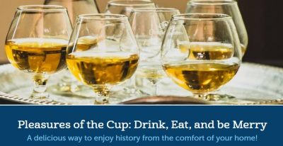 Pleasures of the Cup: Drink, Eat, and Be Merry