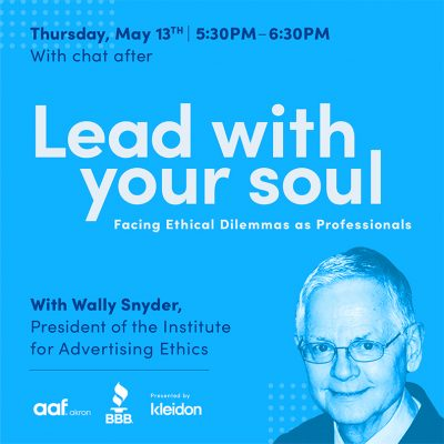 Lead with Your Soul – Facing Ethical Dilemmas as...