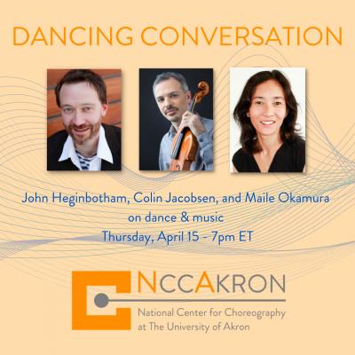 NCCAkron Dancing Conversation: Dance & Music