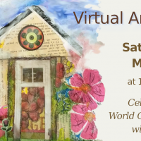 Virtual Art Party on World Collage Day