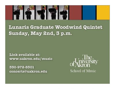 Lunaris Graduate Woodwind Quintet