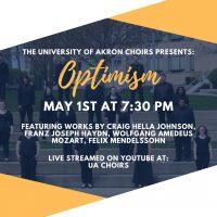UA Choir Presents: Optimism