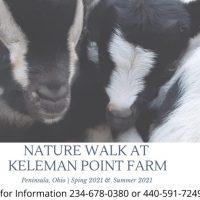Nature Walk at Keleman Point Farm