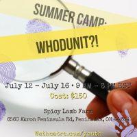 Wandering Aesthetics - Summer CAMP: Whodunit?!