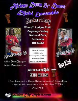African Drum & Dance with Djobi Ensemble 'Wake...