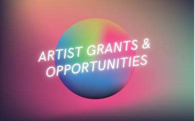 Artwork Archive Artist Opportunity List for 2021
