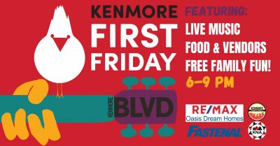 Kenmore First Fridays June Edition: Silver Screen ...