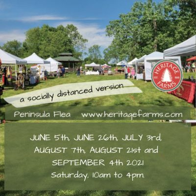 Peninsula Flea at Heritage Farms – Our second so...