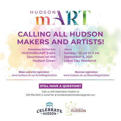 HUDSONmART - Call for Artists and Musicians