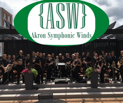 Akron Symphonic Winds at the Akron Art Expo