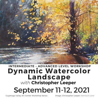 CVAC: Dynamic Watercolor Landscape Workshop