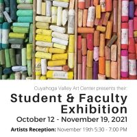 CVAC: Student & Faculty Exhibition