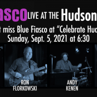 Blue Fiasco Playing in Downtown Hudson, Ohio, Labor Day Weekend