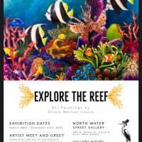 """""""Explore the Reef"""" - Paintings inspired by the Ocean by Grace Nestor-Louie"""