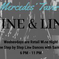 Wine & Line at Mercedes' Tavern