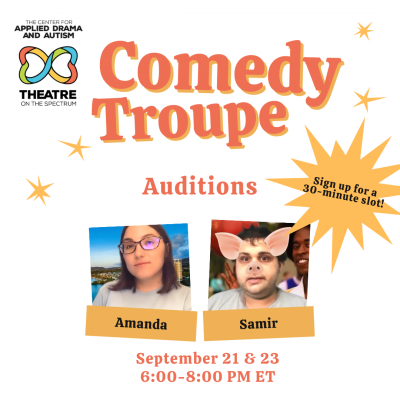 Comedy Troupe Auditions