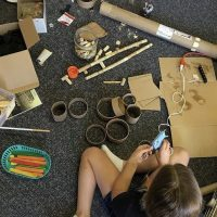 Family Day: Cardboard Challenge